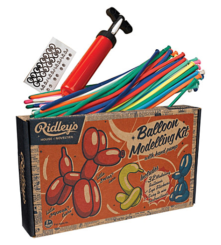WILD & WOLF Ridley's Balloon Modelling Kit