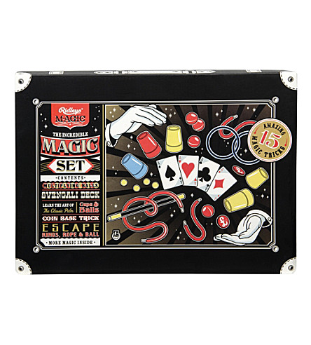 WILD & WOLF Ridley's Magic set suitcase