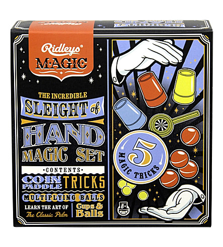 WILD & WOLF Sleight of hand magic set