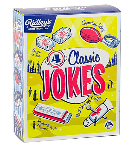 WILD & WOLF Ridley's four classic jokes box set