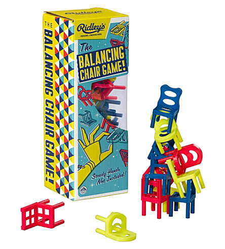 WILD & WOLF Ut the balancing chair game