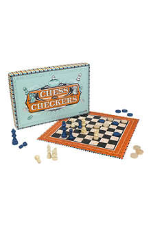 WILD & WOLF Ridley's Chess and Checkers