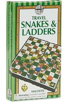 HOUSE OF MARBLES Travel snakes and ladders