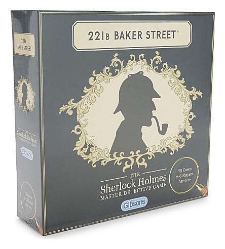 GIBSON & SONS 221B Baker Street Master Detective game