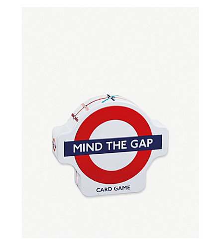 GIBSON & SONS Mind the gap card game