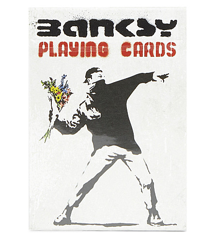 GIBSON & SONS Banksy playing cards