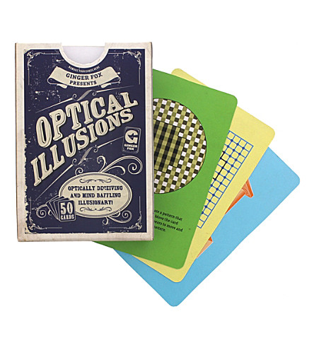 HACCHE Optical illusions playing cards