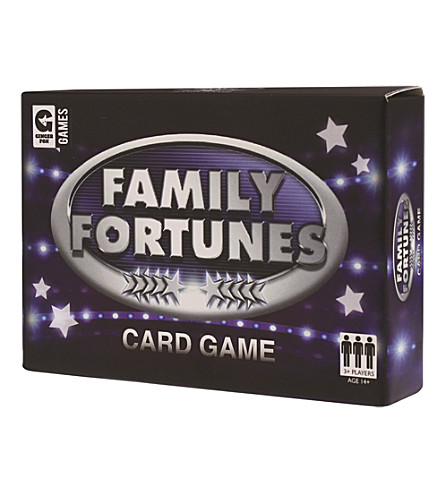 HACCHE Family Fortunes card game