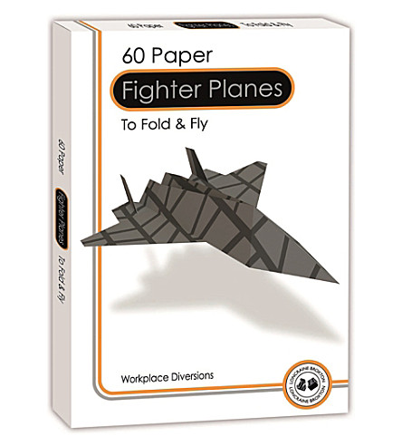 LAGOON Paper fighter planes set