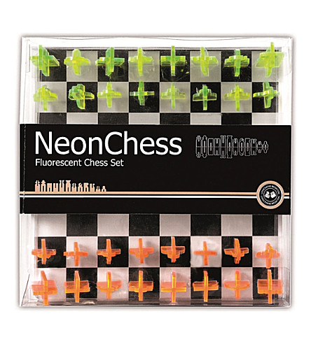 LAGOON Neon chess game