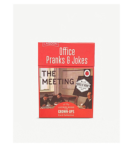 LAGOON Office Pranks playing cards