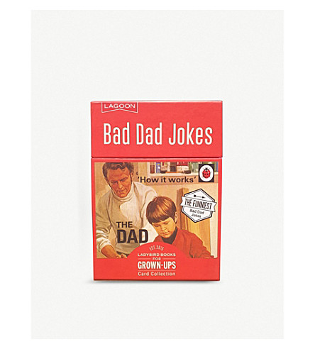 LAGOON Bad Dad joke playing cards