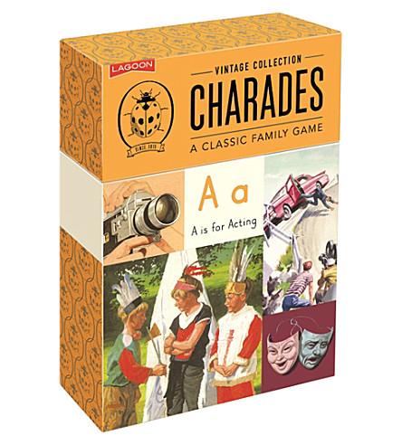 LAGOON Charades game