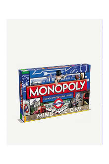BOARD GAMES Monopoly London Underground edition