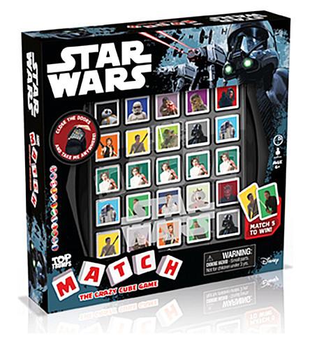WINNING MOVES Star Wars Match game