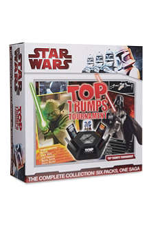 BOARD GAMES Star Wars top trumps