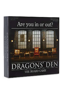 BOARD GAMES Dragons Den board game