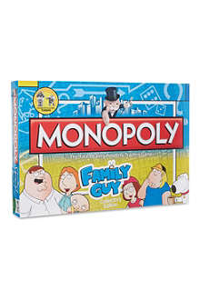 BOARD GAMES Family Guy Monopoly