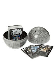 BOARD GAMES Death star Top Trumps tin