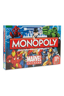 BOARD GAMES Marvel Comics Monopoly set