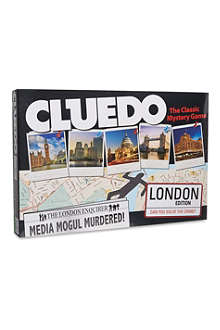 BOARD GAMES London Cluedo