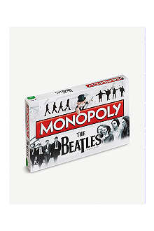 BOARD GAMES The Beatles Monopoly set