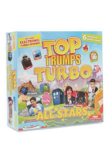 BOARD GAMES Top Trumps Turbo set