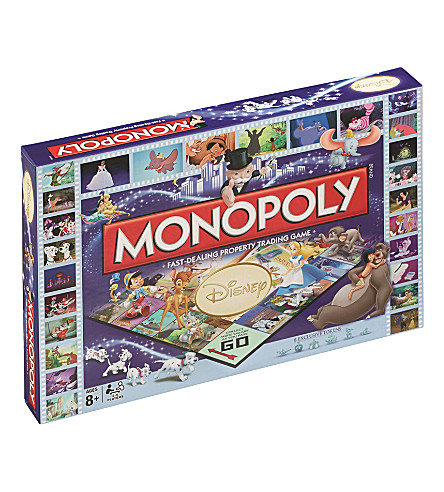 WINNING MOVES Disney Classics Monopoly board game