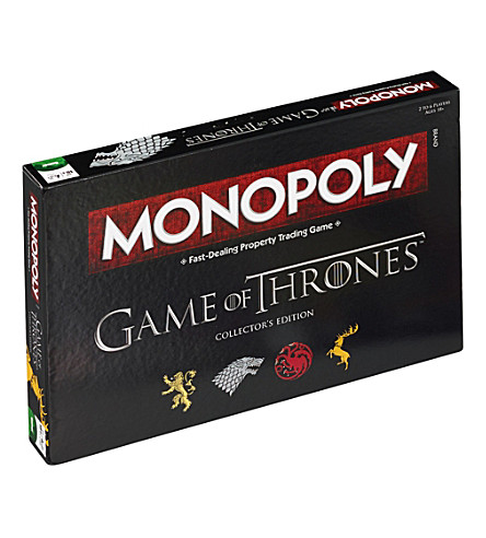 WINNING MOVES Game of Thrones Monopoly