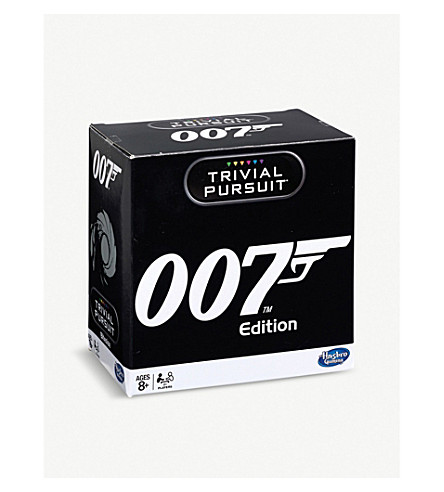 WINNING MOVES James Bond Trivial Pursuit