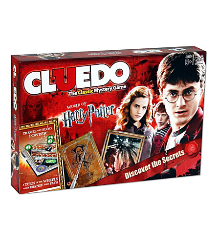 WINNING MOVES Harry Potter Cluedo board game