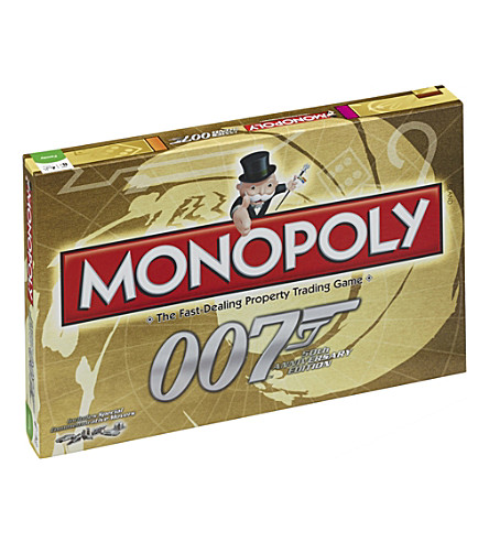 WINNING MOVES Monopoly James Bond 50th anniversary edition