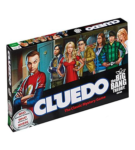 WINNING MOVES Cluedo big bang theory edition