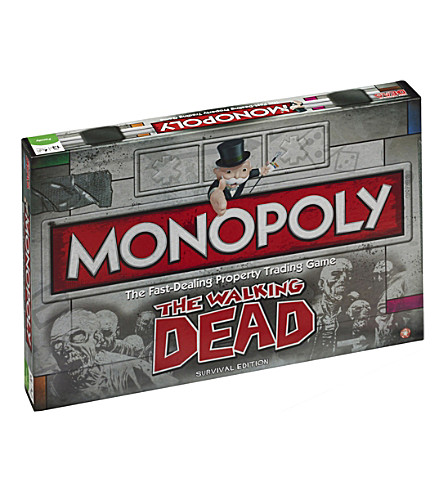 WINNING MOVES Monopoly The Walking Dead Edition
