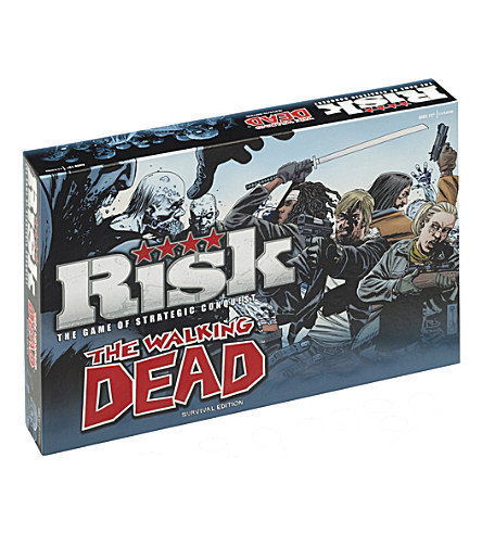 WINNING MOVES Risk The Walking Dead Survival Edition