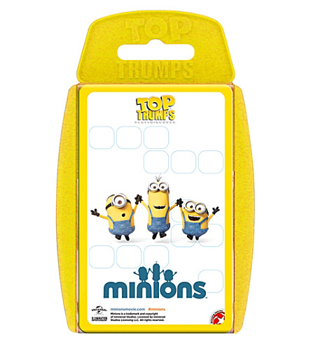 WINNING MOVES Top Trumps Minions card set