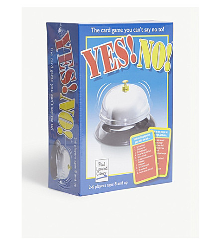 PAUL LAMOND Yes/No card game