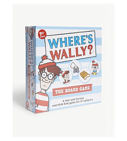 PAUL LAMOND Where's Wally the board game