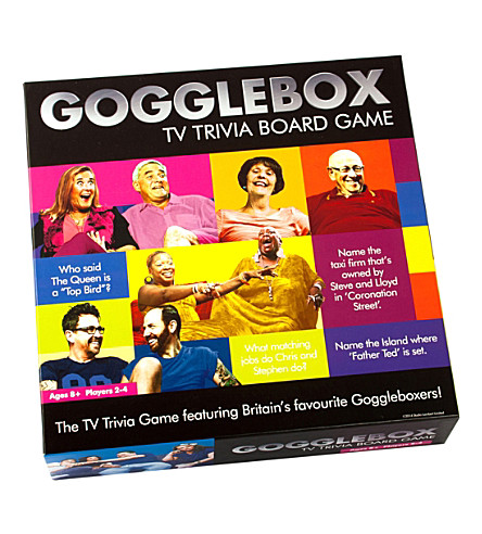 PAUL LAMOND Gogglebox TV trivia board game
