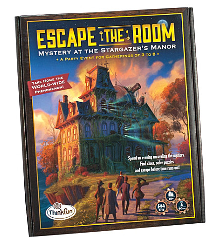 PAUL LAMOND Escape the room Stargazer's mansion game