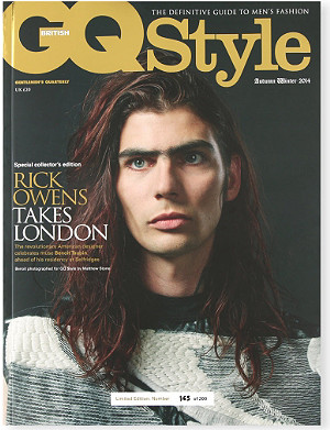 BOOKSHOP GQ Style Exclusive Special Rick Owens issue