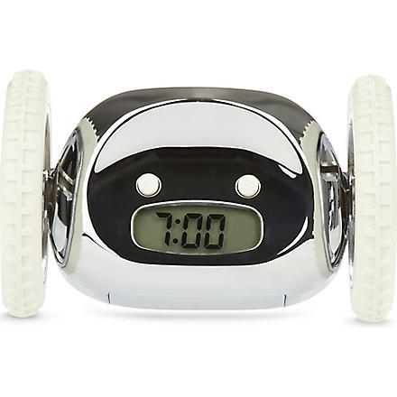 SUCK UK Clocky alarm clock