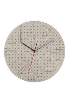 CUBIC Word Search clock