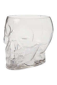 CUBIC Crystal skull glass container