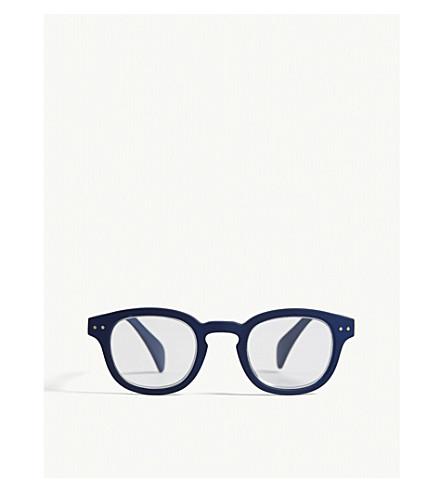 IZIPIZI #C Reading Square-Frame Glasses +2.5