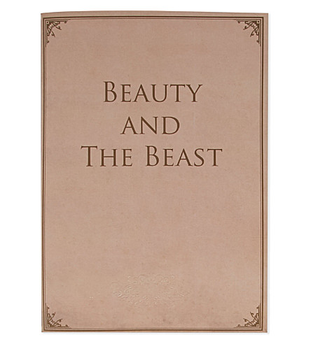 LIBRE MUTI Beauty and the Beast notebook