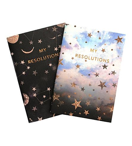 NIKKI STRANGE My Resolutions A6 notebook set