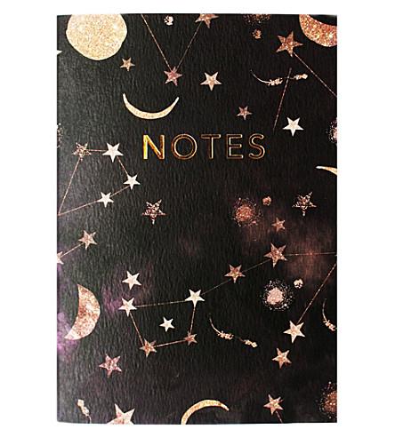 NIKKI STRANGE Notes constellation A6 notebook