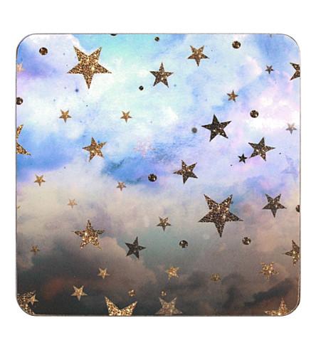 NIKKI STRANGE Cloudy Stars coasters set of 4