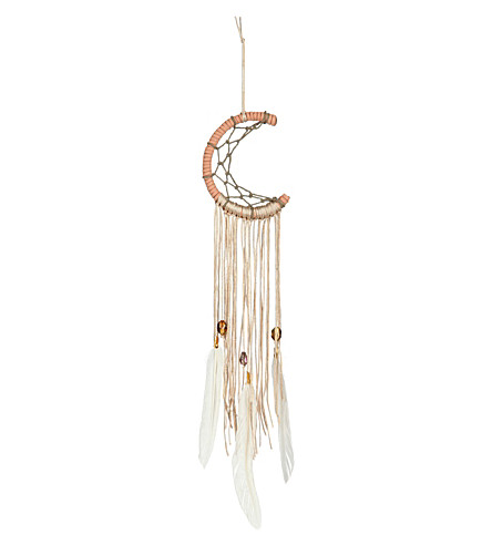MAKING THINGS HAPPEN Half moon dream catcher